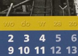 Plaatje werk kalenders